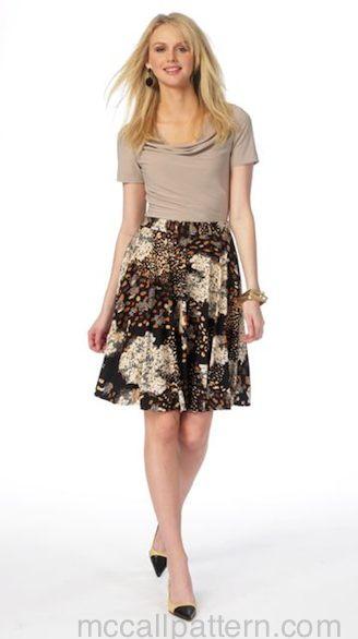McCall's M6994 Circle Skirt