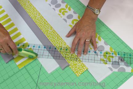 Nancy Zieman Scrappy Binding Tutorial 8