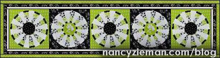 Adventure Quilt Block of the Month Quilt | April 2015 | Nancy Zieman