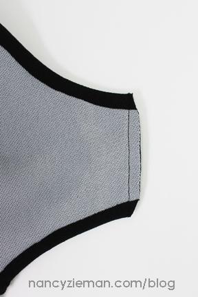 10 ClipCornersAsym Knit Dress Sew Along