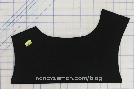11 MarkAssymetry Knit Dress Sew Along