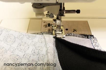 11c TackFacingsAtSeam Knit Dress Sew Along