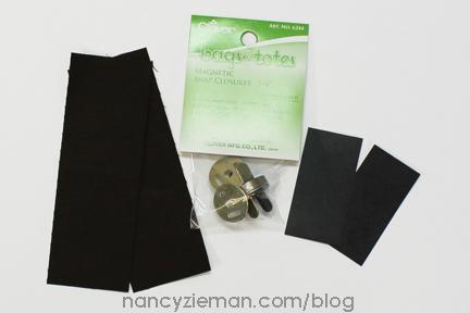 15 Red Ribbon City Bag Nancy Zieman