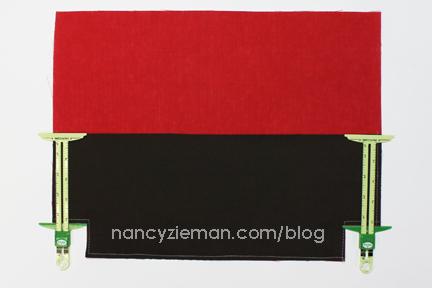 3 Red Ribbon City Bag Nancy Zieman