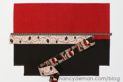 5 Red Ribbon City Bag Nancy Zieman
