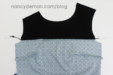 5a Serge Yoke Knit Dress Sew Along