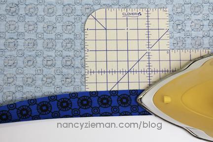 Hem Nancy Zieman Knit Dress Sew Along 1