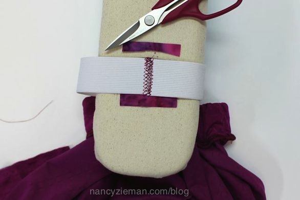 Nancy Zieman's Super Quick Circle Skirt and Clover's New Elastic Bodkins