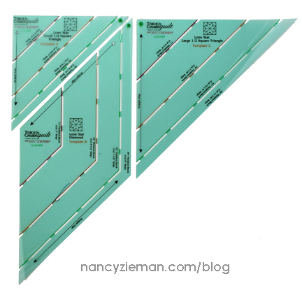 Lone Star Block BOM May Nancy Zieman Template1