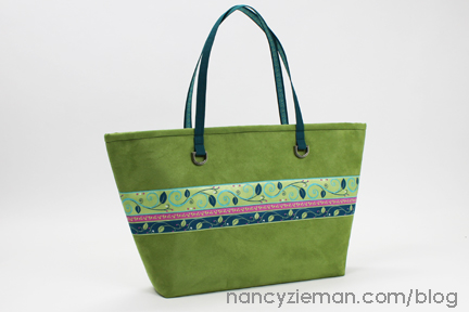 Ribbon City Tote Bag by Nancy Zieman