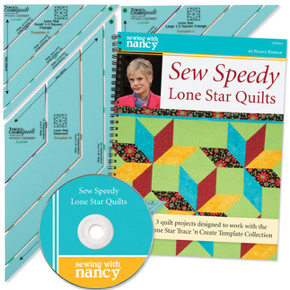 Sew Speedy Lone Star Quilts by Nancy Zieman of Sewing With Nancy
