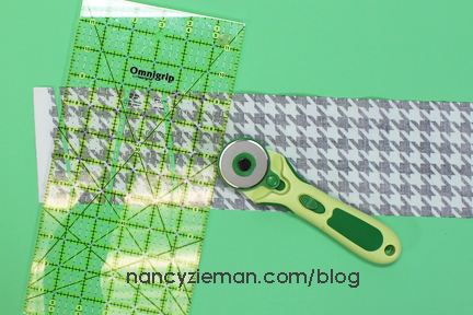 Art Deco Quilt Block Nancy Zieman B