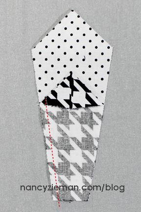 Art Deco Quilt Block Nancy Zieman h