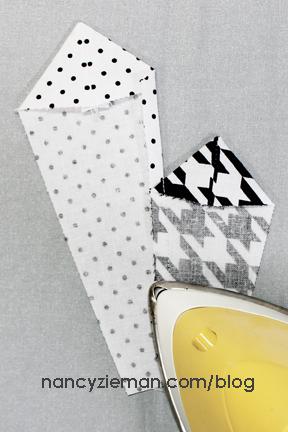 Art Deco Quilt Block Nancy Zieman i