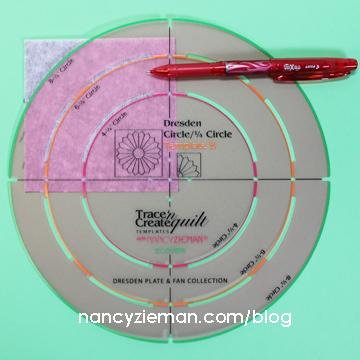 Art Deco Quilt Block Nancy Zieman k