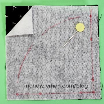 Art Deco Quilt Block Nancy Zieman l