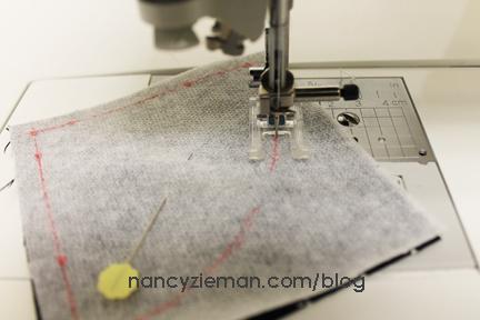 Art Deco Quilt Block Nancy Zieman m