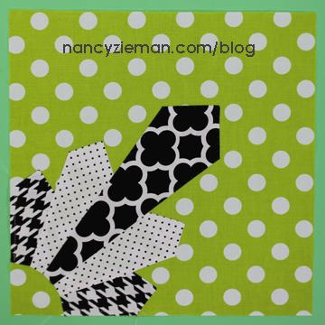 Art Deco Quilt Block Nancy Zieman u