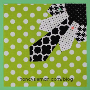 Art Deco Quilt Block Nancy Zieman v