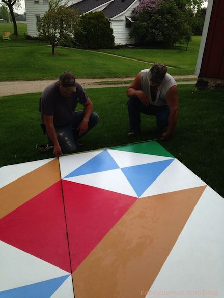 Barn Quilt Nancy Zieman Blog