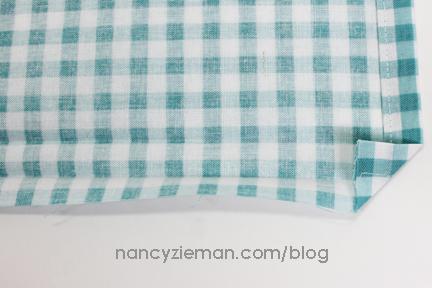 Mitered Napkin Nancy Zieman 7