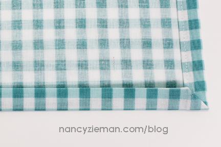 Mitered Napkin Nancy Zieman 9