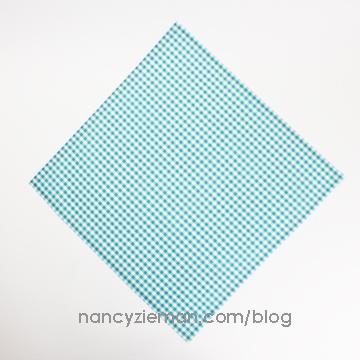 Mitered Napkin Nancy Zieman 9b