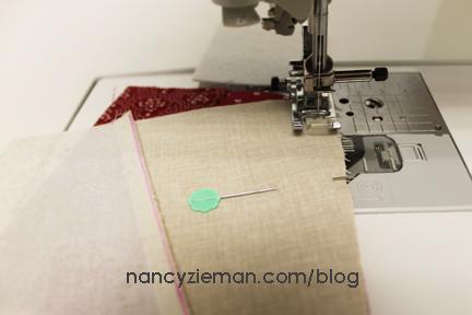 Nancy Zieman Linda Coon Tumbler Quilt 6