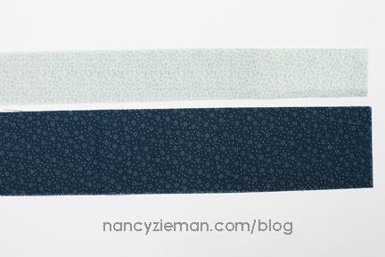 Nancy Zieman Linda Coon Tumbler Quilt blue1