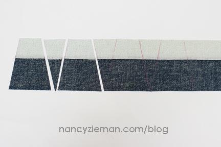 Nancy Zieman Linda Coon Tumbler Quilt blue4