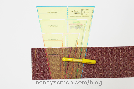 Nancy Zieman Linda Coon Tumbler Quilt edges1