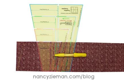 Nancy Zieman Linda Coon Tumbler Quilt red1