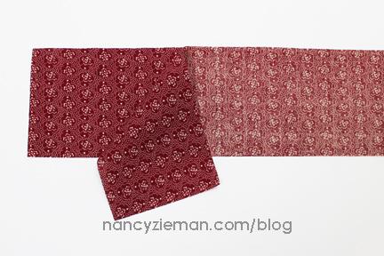 Nancy Zieman Linda Coon Tumbler Quilt red2