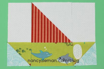 Sailing Quilt Nancy Zieman Boats6