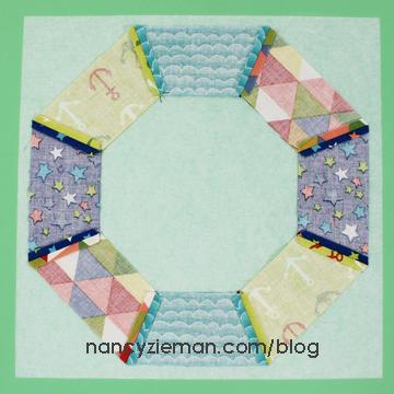 Sailing Quilt Nancy Zieman Rings7