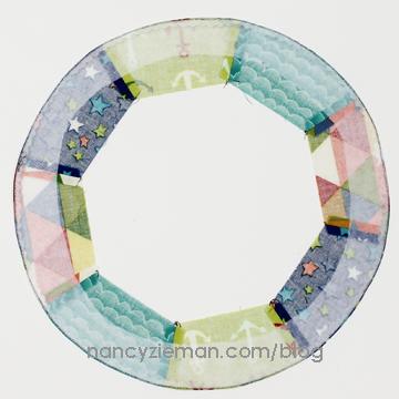 Sailing Quilt Nancy Zieman Rings9b