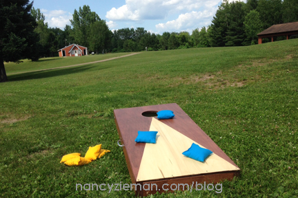 How to Sew Bean Bag/Cornhole Bags by Nancy Zieman
