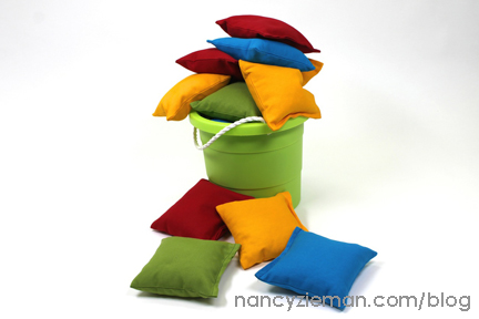 BeanBags NancyZieman First