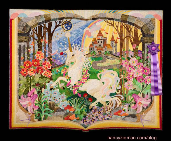 Quilt Expo Madison Wi Best of Show 2014 Mary S. Buvia Greenwood, Ind. Once Upon a Time