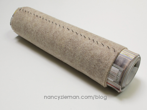 How To Make a Tailors Pressing Roll by Nancy Zieman
