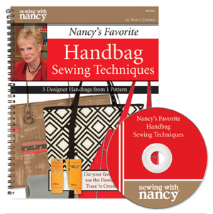 Nancy Zieman's Favorite Handbag Sewing Techniques Book