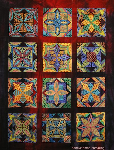 Quilt Expo Madison WI September 10-12 2015 Nancy Zieman Blog Laura Murray-On the Edge of Thread