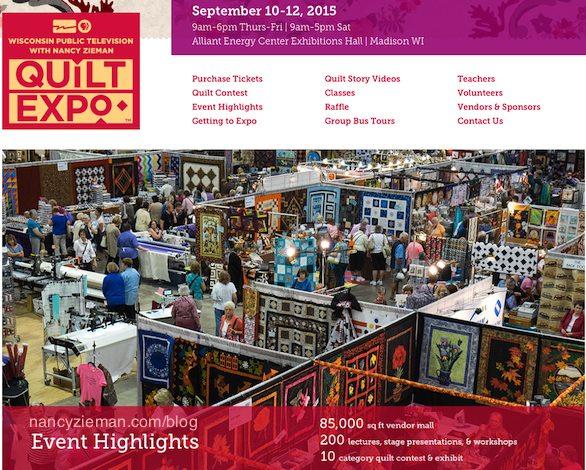 Quilt Expo Madison Wi September 10-12 2015 Register Online