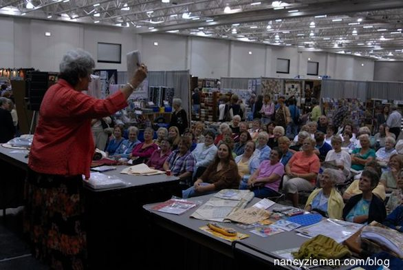 Quilt Expo Madison Wi September 10-12 2015 Stage presentations
