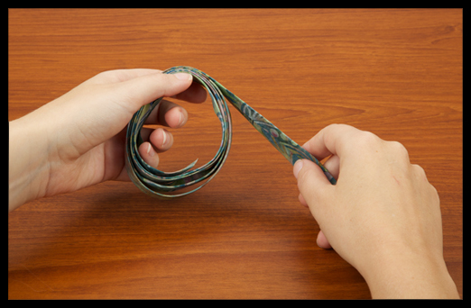 How to sew binding