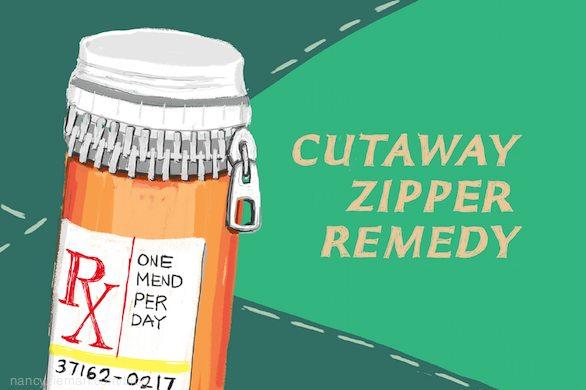 How to replace a broken zipper/Nancy Zieman/Sewing With Nancy