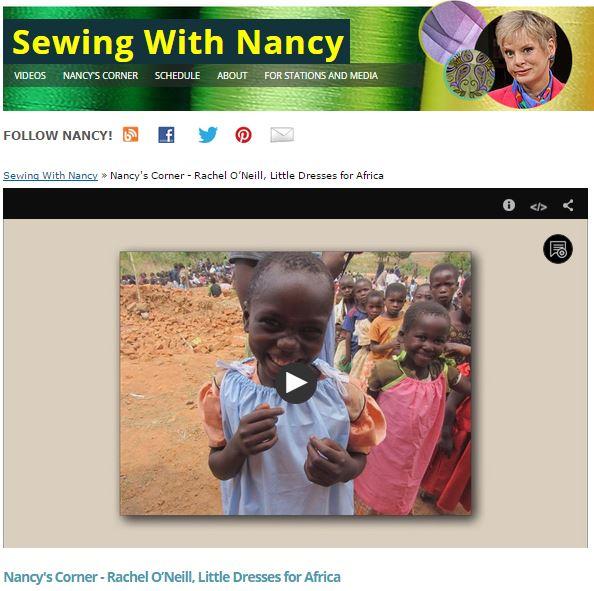 DressesforAfricaScreenShot
