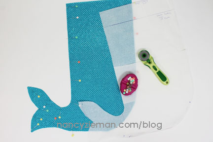 How to Sew a Mermaid Tail by Nancy Zieman of TV's Sewing With Nancy