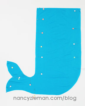 How to Make a Mermaid Tail by Nancy Zieman of TV's Sewing With Nancy