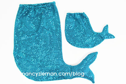 MermaidCostume TwoSizes